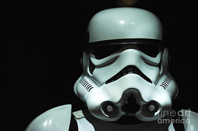 Movie Prop Photograph - Original Stormtrooper by Micah May