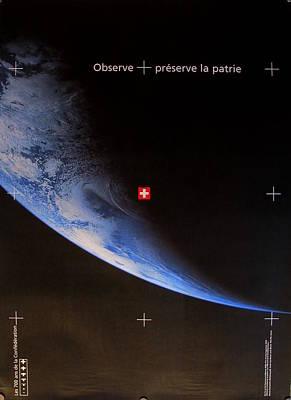 Original Swiss Poster - 700 Year Anniversary - Swiss National Day Celebrations Original