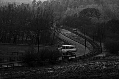 Photograph - Original Vintage Trolley Tram - Beamish Village by Doc Braham