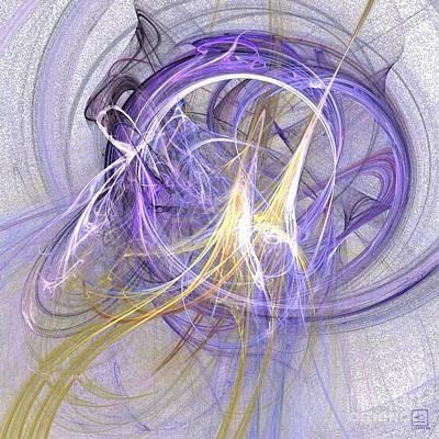Artport Digital Art - Origins 3 by Jeanne Liander