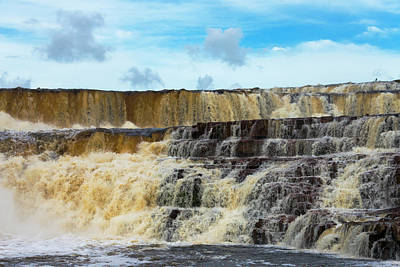 Orinduik Falls, Guyana (large Format Art Print by Keren Su