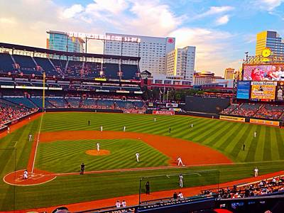 Photograph - Oriole Park At Camden Yards by Chris Montcalmo
