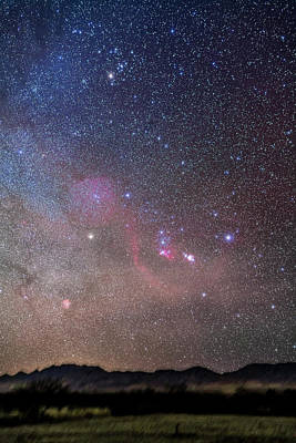 Betelgeuse Photograph - Orion And Taurus Rising by Alan Dyer