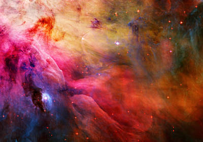 Cosmic Painting - Orion Nebula by Celestial Images