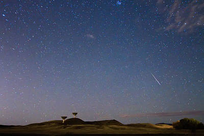 James Insogna Photograph - Orionid Meteor Shower by James BO  Insogna