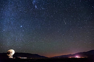 Photograph - Orionids Meteors by Cat Connor