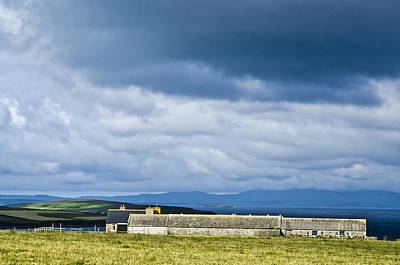 Photograph - Orkney Farmhouse Scotland by Sally Ross
