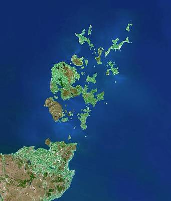 Orkney Islands Art Print by Planetobserver/science Photo Library
