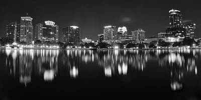Photograph - Orlando Black And White by Frozen in Time Fine Art Photography