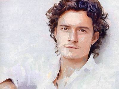 Orlando Bloom Digital Art - Orlando by Bogus Florjan