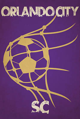 Orlando City Sc Goal Art Print by Joe Hamilton