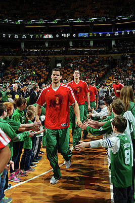 Photograph - Orlando Magic V Boston Celtics by Steve Babineau