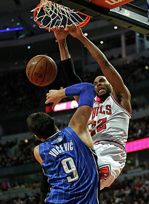 Photograph - Orlando Magic V Chicago Bulls by Jonathan Daniel