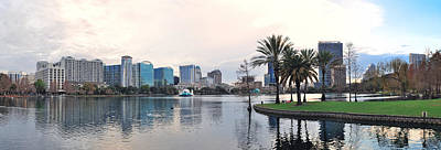 Photograph - Orlando Panorama  by Songquan Deng