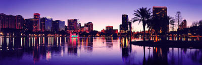 Photograph - Orlando Silhouette by Songquan Deng