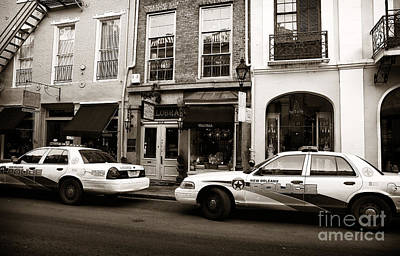 Police Art Photograph - Orleans Pd by John Rizzuto