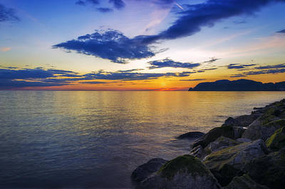 Photograph - Orme Sunset by Ian Mitchell