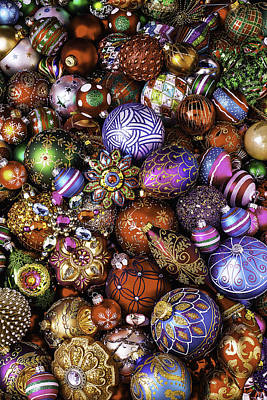 Embellishments Photograph - Ornament Collection by Garry Gay