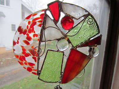 Glass Art - Ornament by Karin Thue
