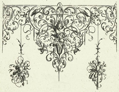 Ornament, Michiel Le Blon, Anonymous, Balthasar Caymox Art Print