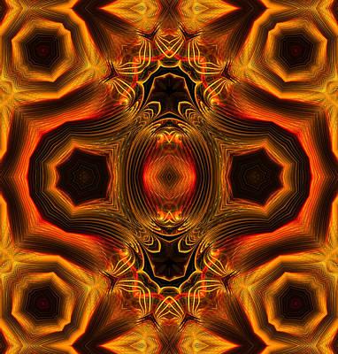 Philosophical Mixed Media - Ornamental Emblem by Georgiana Romanovna
