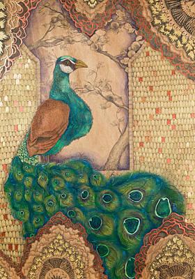 Ornamental Peacock Original