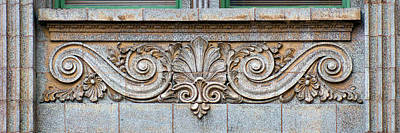 Photograph - Ornamental Scrollwork Panel - Architectural Detail by Nikolyn McDonald