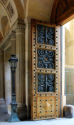 Photograph - Ornate Door by Andrew Fare
