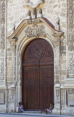 Photograph - Ornate Door by Chris Dutton