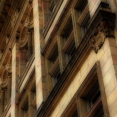 Photograph - Ornate Facade by Andrew Fare