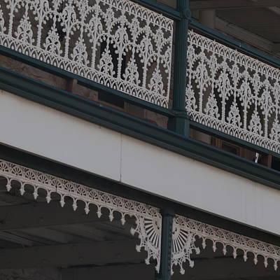 Photograph - Ornate Kalgoorlie Verandah by Cheryl Miller