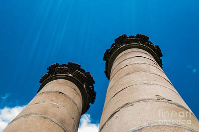 Photograph - Ornate Pillars by Bianca Nadeau