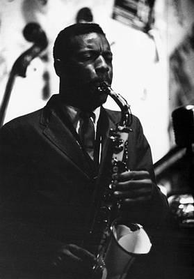 Saxophone Photograph - Ornette Coleman (1930-2015) by Granger