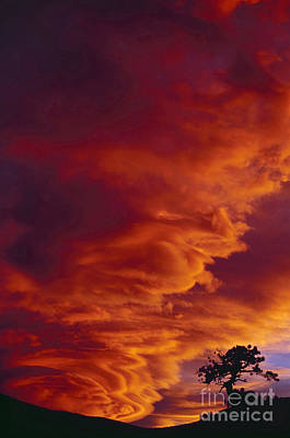 Photograph - Orographic Stratiform Clouds by Robert and Jean Pollock