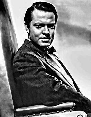 Painting - Orson Welles by Florian Rodarte