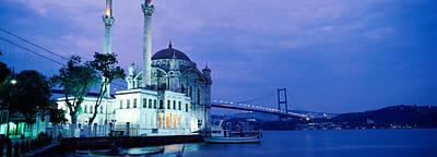Bosphorus Photograph - Ortakoy Mosque, Istanbul, Turkey by Panoramic Images