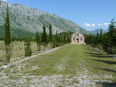 Photograph - Orthodox Church - Albania by Phil Banks