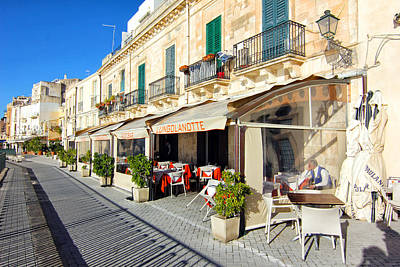 Sicily Digital Art - Ortigia  Sicily by Pam Gleichman