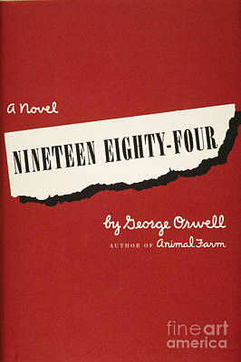 Nineteen Photograph - Orwell: Cover Of 1984 by Granger