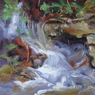 Osage Creek Waterfall Art Print