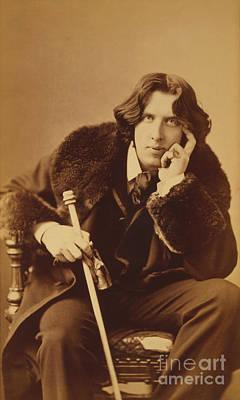 Character Portraits Photograph - Oscar Wilde 1882 by Napoleon Sarony