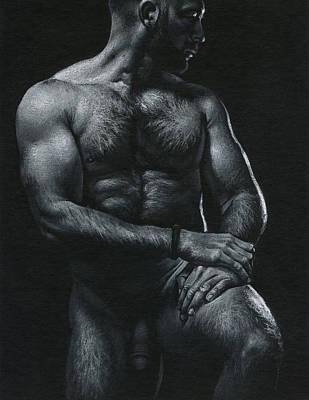 Oscuro 17 Art Print by Chris Lopez
