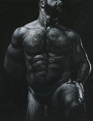 Oscuro 18 Art Print by Chris Lopez