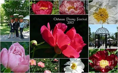 Photograph - Oshawa Peony Festival 2013 by Avis  Noelle