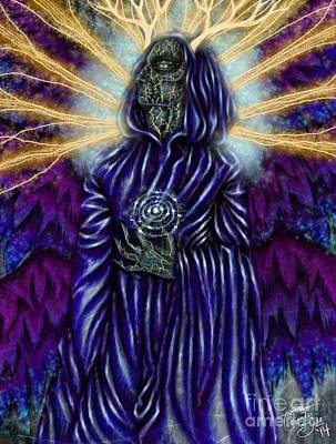 Osiris Kintsukoroi Art Print by Coriander  Shea