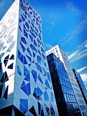 Oslo Architecture No. 2 Art Print by Mary Machare