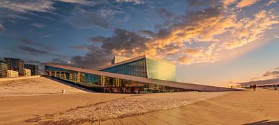 Oslo Opera House Photograph - Oslo Opera by Catalin Tibuleac