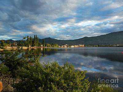 Photograph - Osoyoos - Quiet Reflection by Margaret McDermott