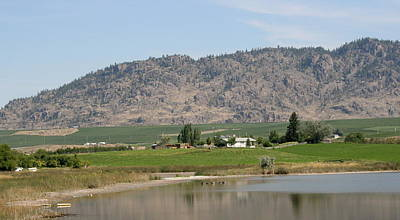 Photograph - Osoyoos British Columbia by Betty-Anne McDonald
