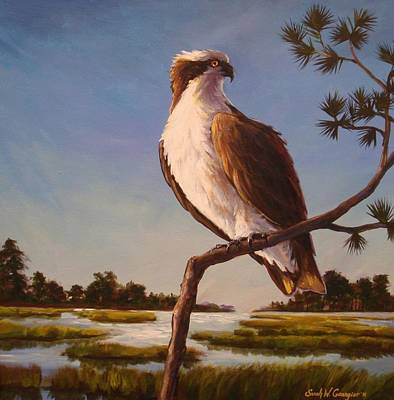 Painting - Osprey by Sarah Grangier